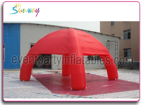 Inflatable spider tent...