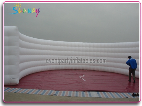 Inflatable curve wall SI-122