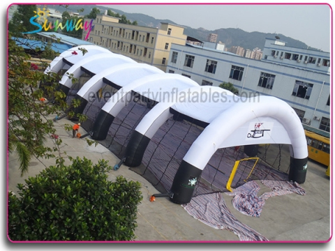 Inflatable paintball tent STE-043