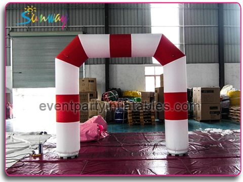 Red and white mini arch AT-171
